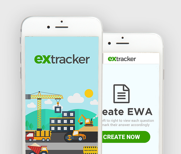 Extracker Mobile Web Desig