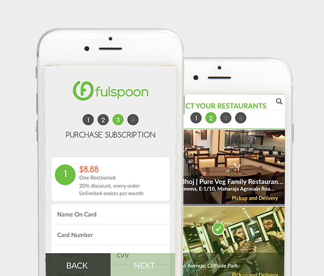Fulspoon Mobile Web Design