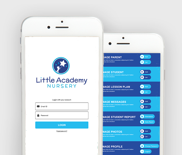 Little Academy Mobile Web Design