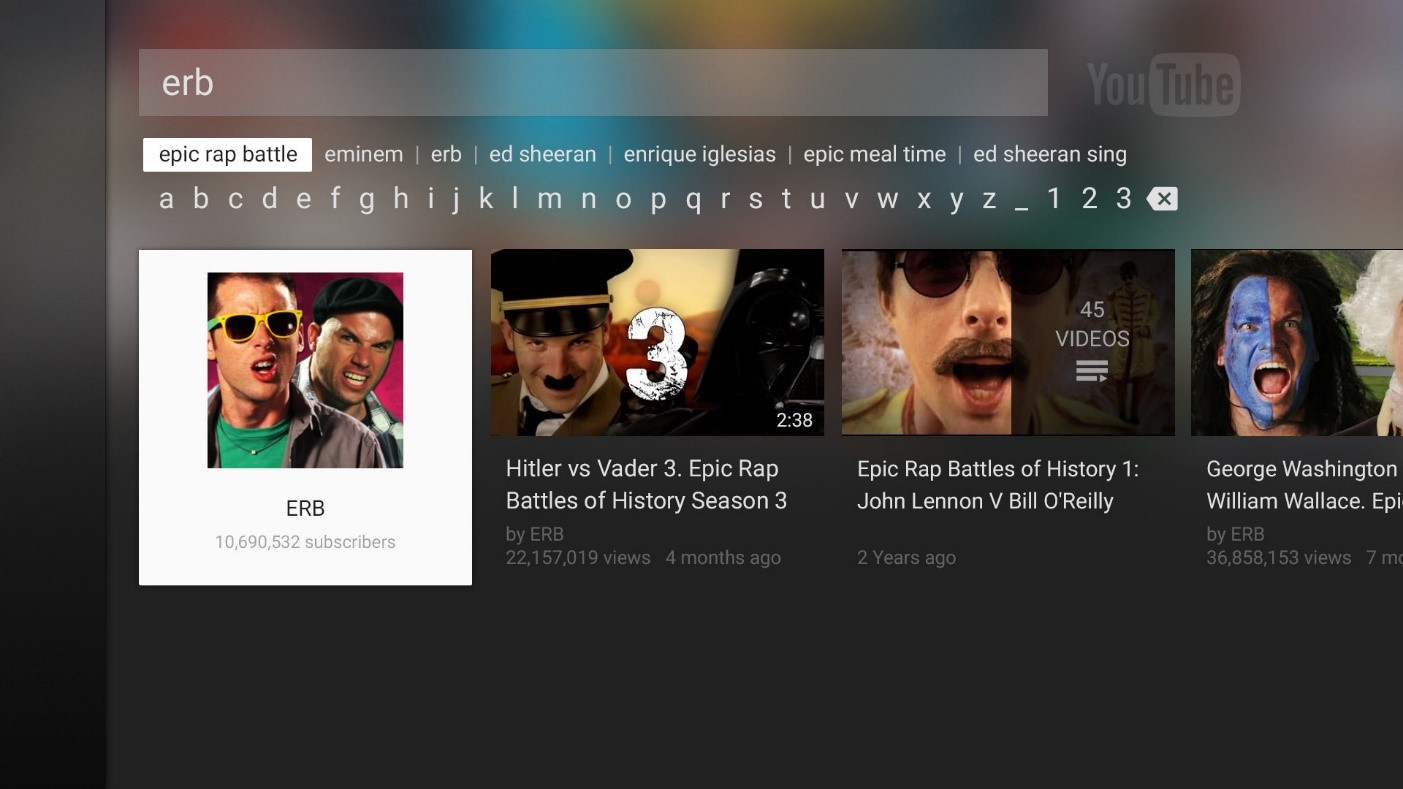 YouTube for PS3